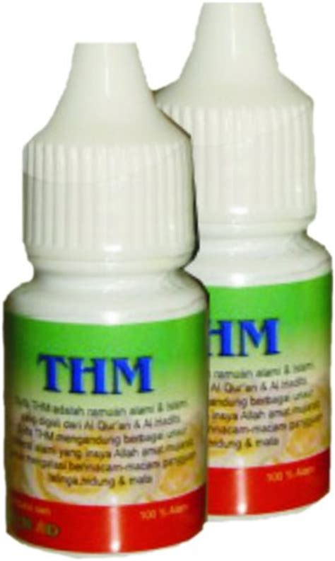 Thm Obat Tetes Telinga Di Apotik obat herbal tetes thm mengatasi masalah telinga hidung