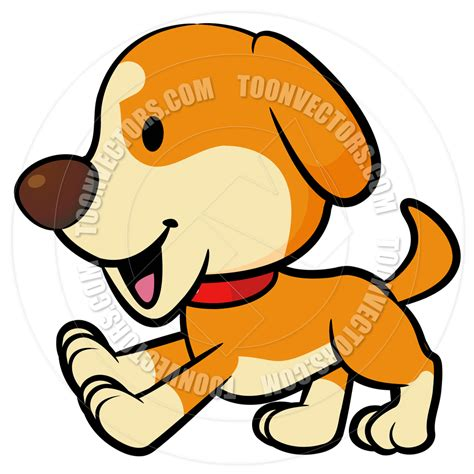 clipart cani running puppy clipart