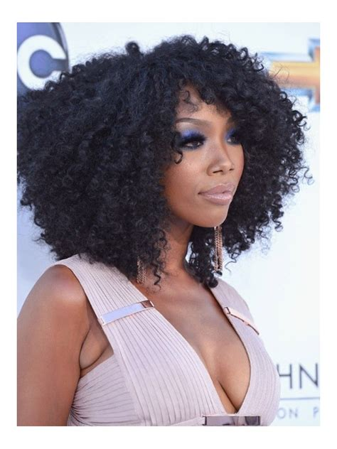Brandy Norwood Wigs | stock brandy norwood curly human hair full lace wig curly