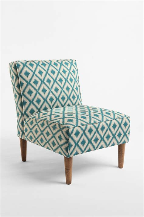 Chairs To Put In Bedroom | slipper chair woven medi ikat urbanoutfitters guest