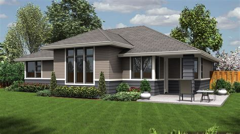contemporary ranch house plans mascord house plan 1169es the modern ranch