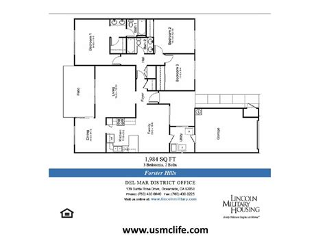 c pendleton base housing floor plans forster hills military housing floor plans usmc life