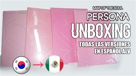 unboxing bts map   soul persona en espanol todas las