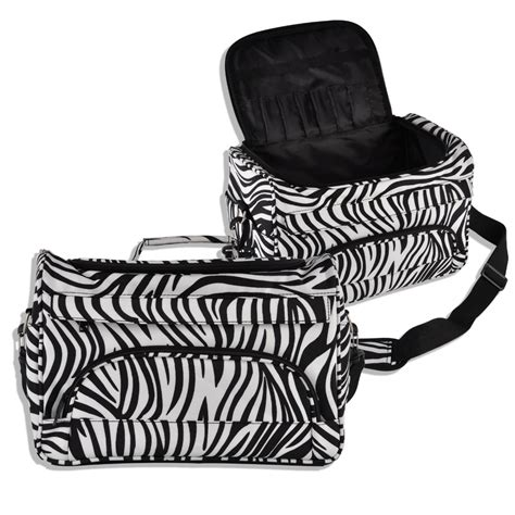 Hair Dryer Tool Bag professional hair tool bag zebra design hairdressing salon