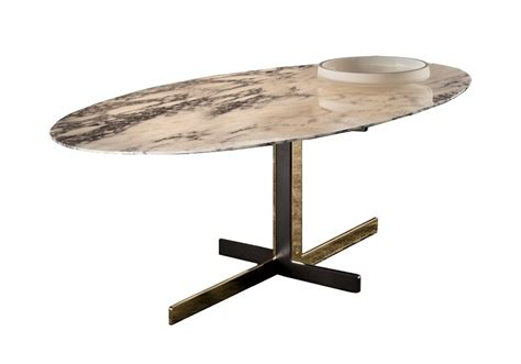 catlin dining table with marble top minotti milia shop