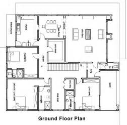 Superb Small Vacation Home Plans #3: House-plan-padi-groundFloorPlan.jpg