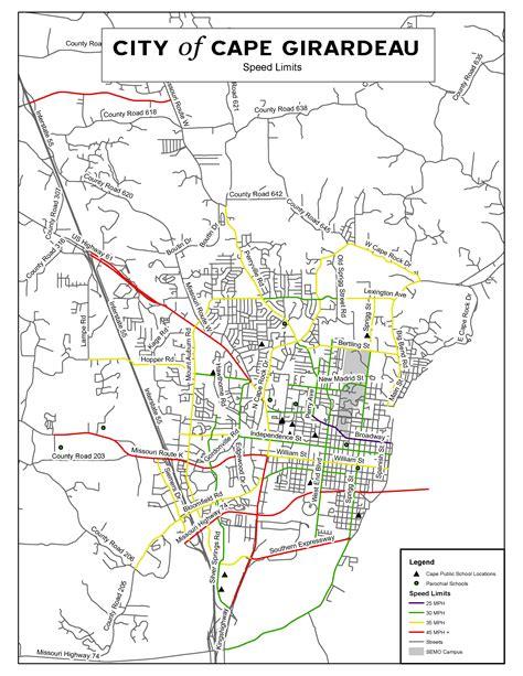 missouri map cape girardeau scooter ordinance effective nov 16 in cape girardeau