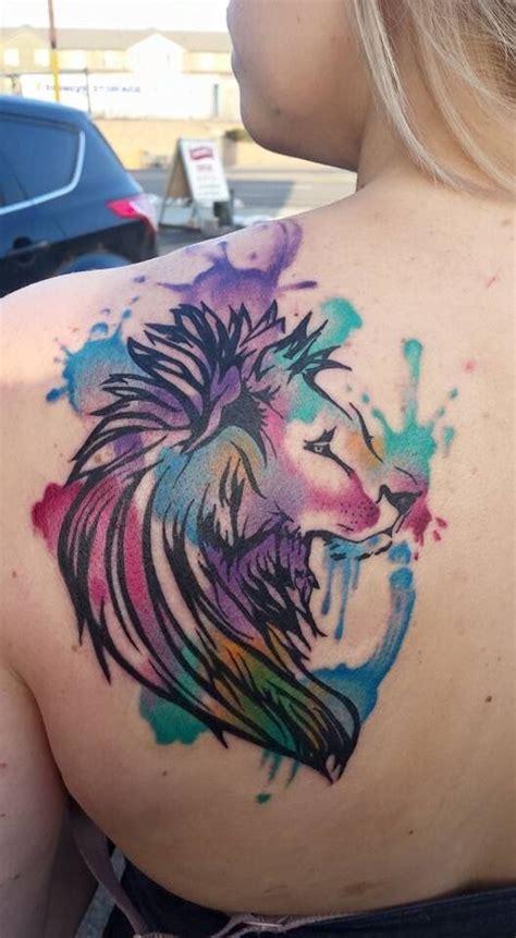 watercolor tattoos utah watercolor by lance coulam in salt lake city ut