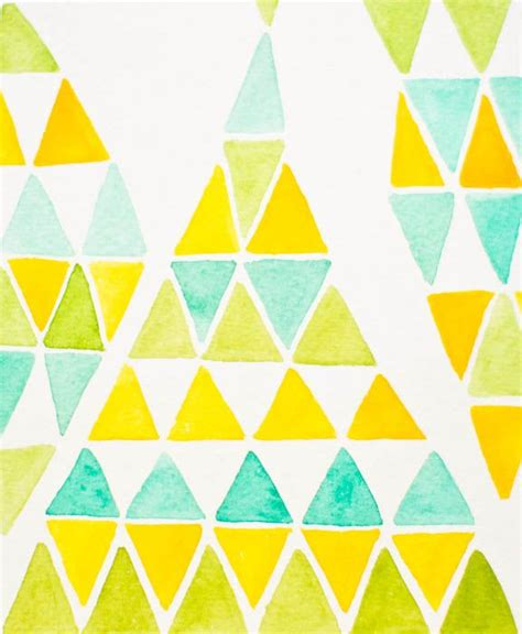 triangle pattern yellow 144 best surface pattern triangles images on pinterest