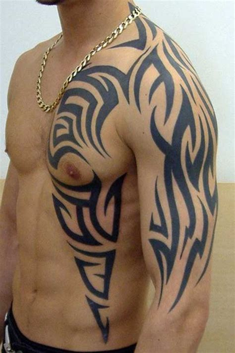 tribal tattoo for men the cool artistic ones tattoo best tattoo designs for men on shoulder