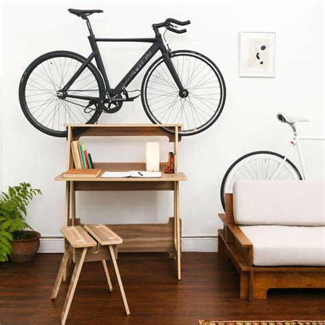 Bike Racks For Apartments by Furniture Doubles As Bike Racks To Save Space In Tiny