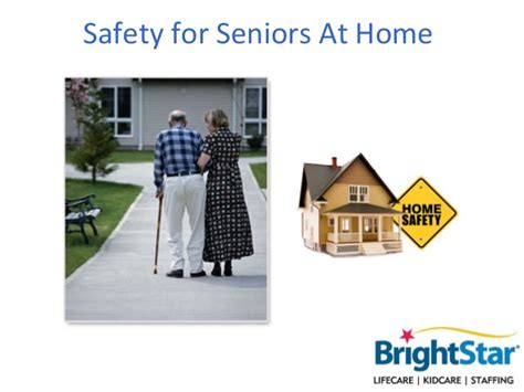 safety for seniors at home