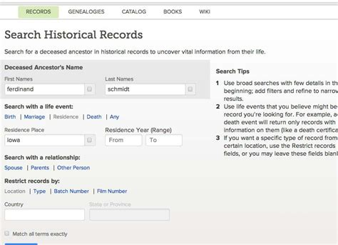 Records Seach 3 Search Strategies For Records On Familysearch Org Mccullough