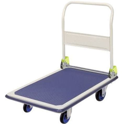 Troli Pengangkut Barang Krisbow Troli Barang Lipat 300kg Trolley prestar nf301folding handle platform flat bed trolley 300kg