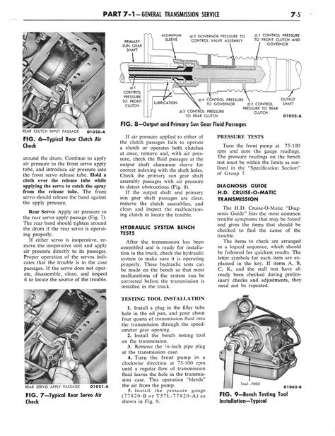 old car manuals online 2012 ford e series lane departure warning 1964 ford and mercury shop manual part 6 part 7 page 26 of 42