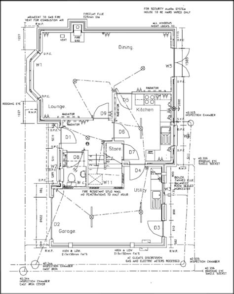 typical house floor plan dimensions types of drawings for building design designing