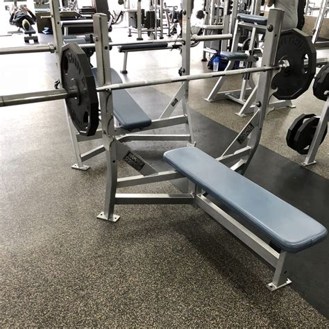 hammer strength olympic bench life fitness hammer strength gym equipment package 65