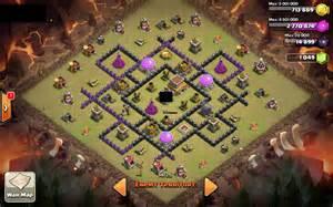 Coc th 8 base war