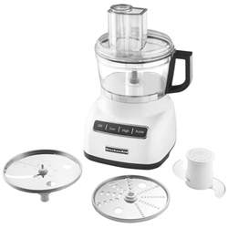 kitchenaid kfp0711wh white 7 cup food processor