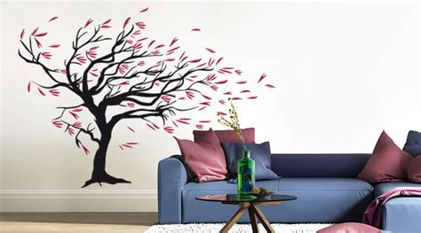 Cherry Blossom Tree Wall Sticker wall stickers living room shop wall art com