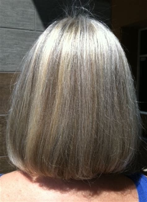 gray hair with lowlights grey hair highlights and lowlights short hairstyle 2013