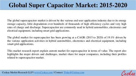supercapacitor market global supercapacitor market to reach 4 8 billion respectively by 2