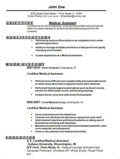 free assistant resume templates sle free resume templates 13 free documents in word