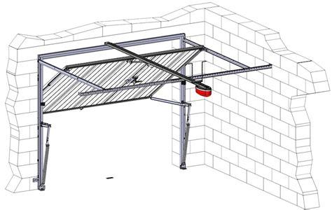 installer une porte de garage basculante motorisations pour portes de garage axone spadone