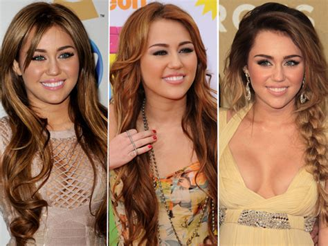 miley cyrus nose job plastic surgery before and after