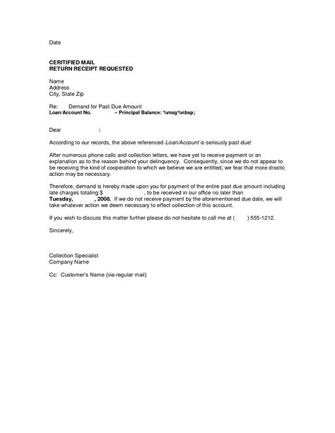 best photos of mortgage demand letter sle demand letters