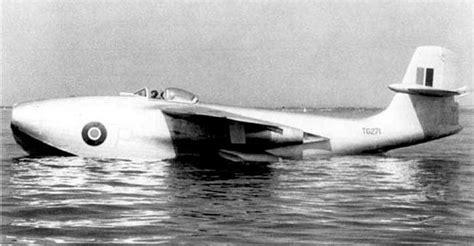 flying boat jet fighter history saro sr a1 jet flying boat