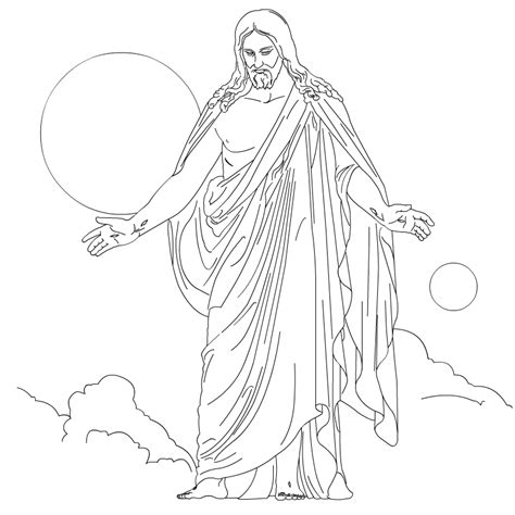 Coloring Page Of Jesus by Free Printable Jesus Coloring Pages For