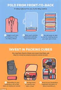 packing hacks moving expedia infographic reveals how you ve been packing your