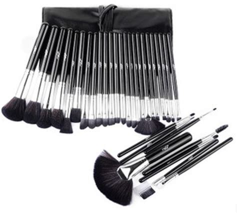 Make Up Brush Set Mac 32pcs 32pcs black color professional mac cosmetic makeup brushes