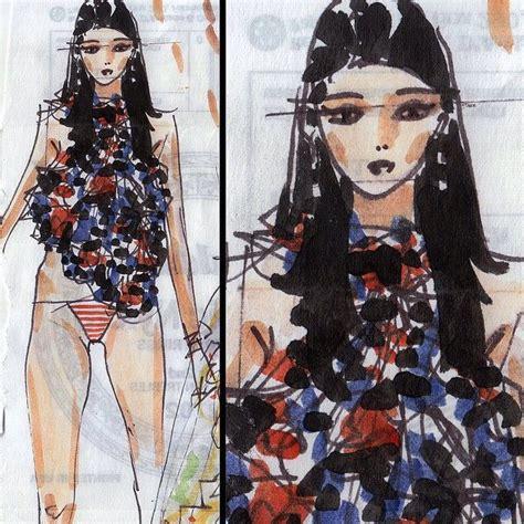 fashion illustration yelen aye 22 best fashion drawing tutorials images on