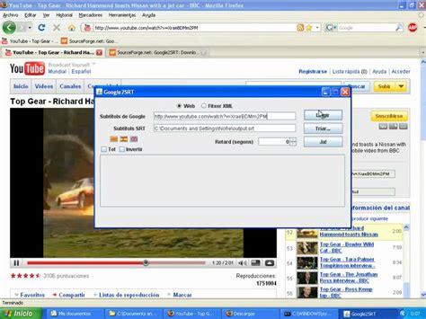 download youtube and subtitle google2srt download youtube subtitles and convert them