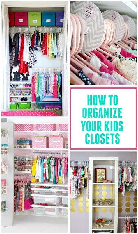 how to organize your home room by room kids closet organization ideas design dazzle bloglovin