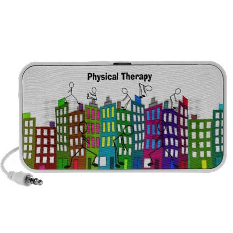 physical therapy gifts portable speaker zazzle