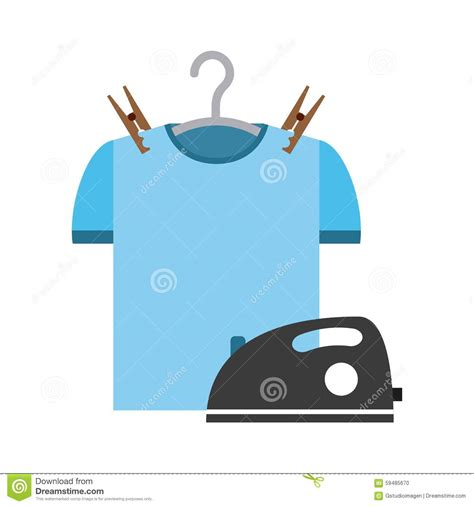 laundry graphic design laundry service stock vector image 59485670