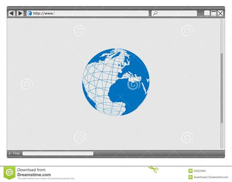 browser eps vector web browser stock images image 22252494