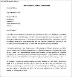 Letter Of Intent Template Graduate School by How To Write A Letter Of Intent For