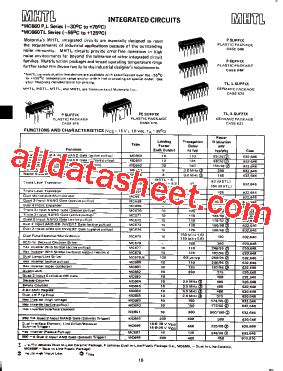 list of integrated circuit companies mc672 datasheet pdf list of unclassifed manufacturers