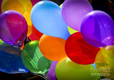 Colorful balloons photograph by elena elisseeva