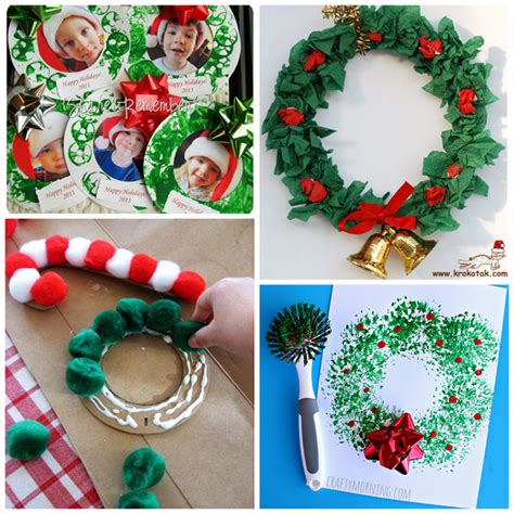 christmas arts and crafts ideas for preschoolers claus