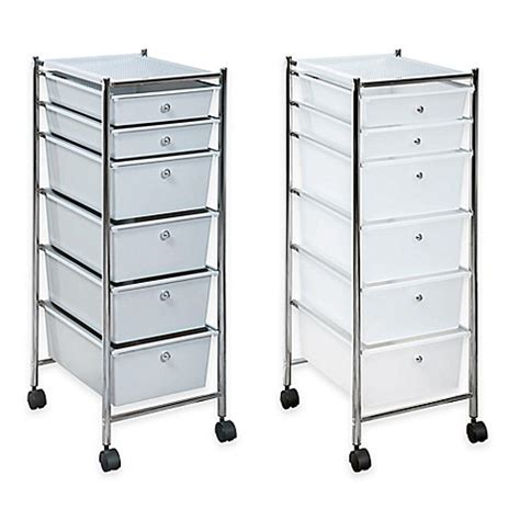bed bath and beyond drawers 6 drawer plastic rolling storage cart bed bath beyond