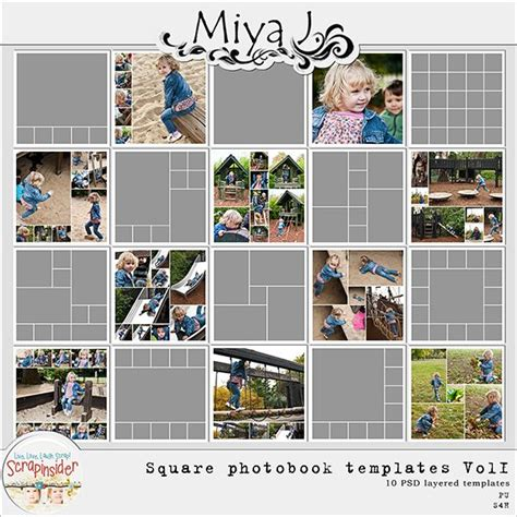 Miya J New Photo Book And 60x40 Cm Photo Collage Templates Photo Album Ideas Photo Collage Yearbook Collage Template