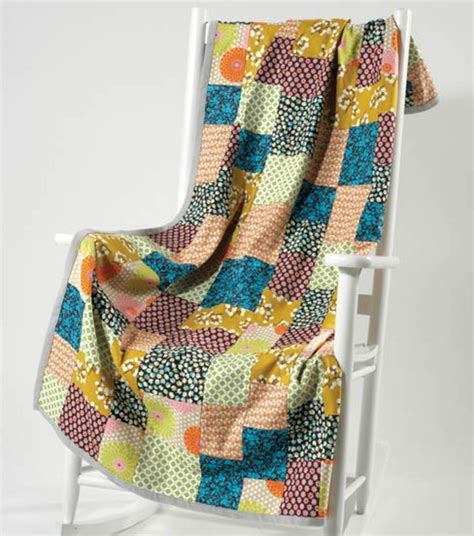 Patchwork Projects For - craftdrawer crafts free quilt pattern patchwork throw