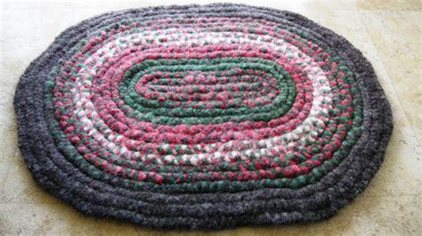 braided felt rug braided felted wool roving rug by montanabackwoodsjsb on etsy