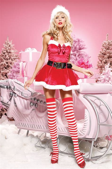 hot miss santa on pinterest santa costumes dresses costume xt2871 holidays for the home