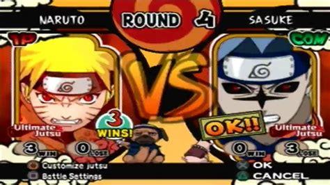 tutorial naruto ultimate ninja 4 naruto ultimate ninja 4 shippuden hd naruto fox vs cs2